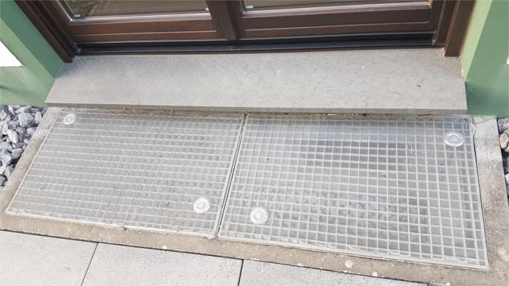 Referenzen Lichtschachtabdeckungen in Bad Hönnigen (vorher)