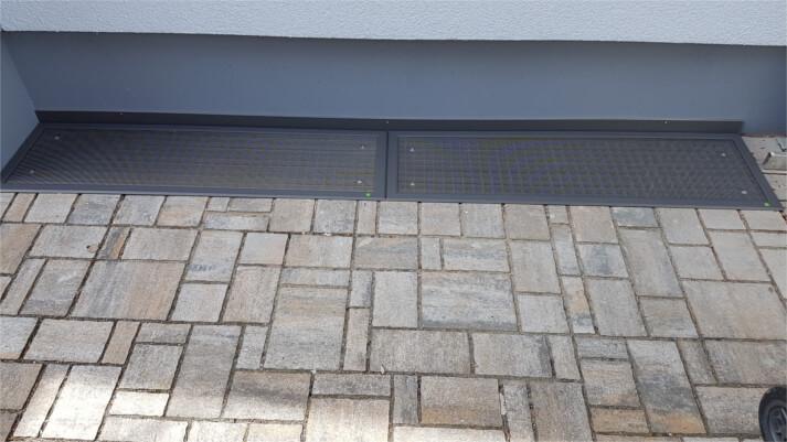 Referenzen Lichtschachtabdeckungen in Ginsheim-Gustavsburg (nachher)